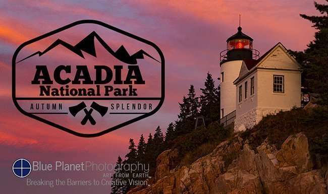 Acadia National Park, Maine photography workshop with Blue Planet Photography