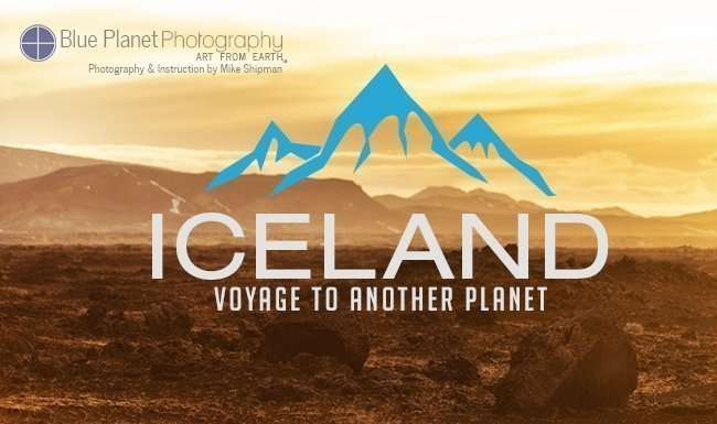 Iceland photography workshop with Blue Planet Photography